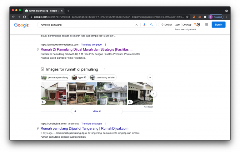 Page 1 SEO Bamboo Prime Residence